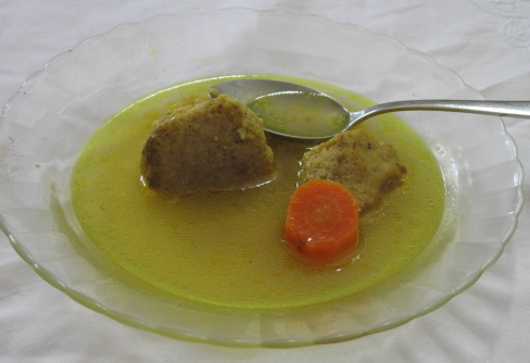 Yemenite Chicken Soup with Matzo Balls